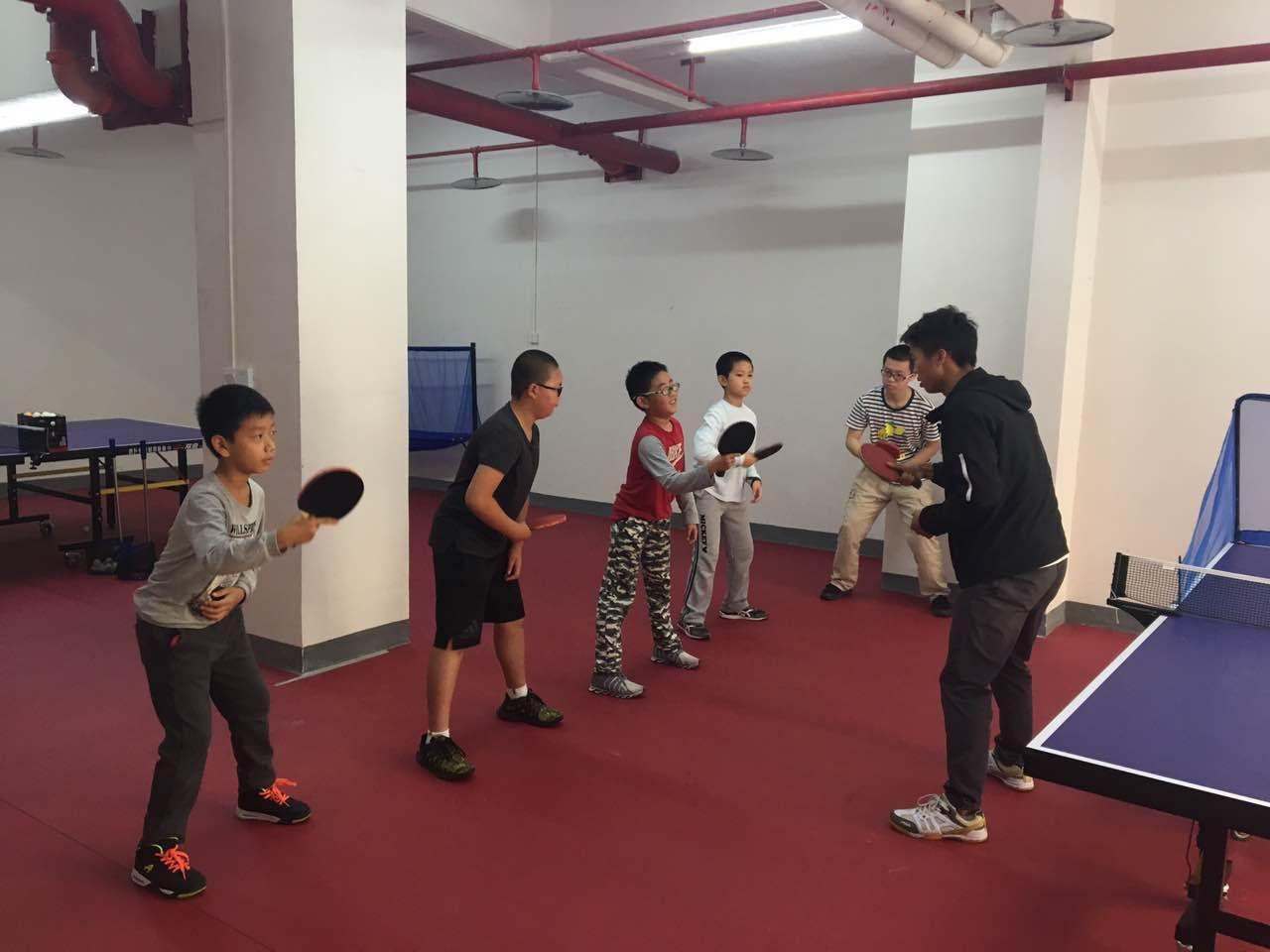 乒乓球训练